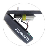 AVANTI T-Serie Garage Door Opener Detail 24V DC Motor developed specially for drives